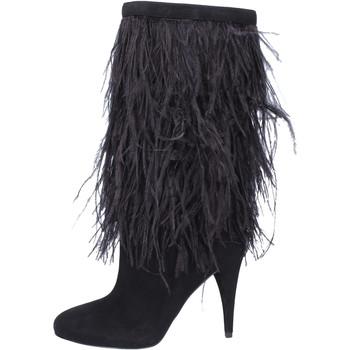 Sapatos Mulher Botas MICHAEL Michael Kors BJ760 Preto