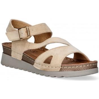 Sapatos Mulher Sandálias Etika 52655 castanho