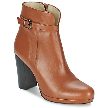 Sapatos Mulher Botins Betty London GRAZI Camel