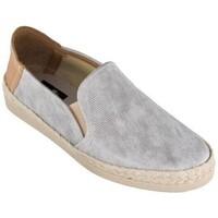 Sapatos Mulher Alpargatas Cbp - Conbuenpie Sandalia de piel de mujer by TROPPA (R.ST) Argenté
