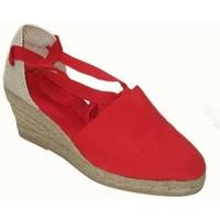 Sapatos Mulher Alpargatas Annora Zapatos Sandalia de vestir de mujer by Annora Rouge