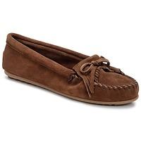 Sapatos Mulher Mocassins Minnetonka KILTY Castanho / Escuro