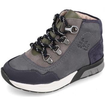 Sapatos Criança Sapatilhas de cano-alto Garvalin 191421 Cinza
