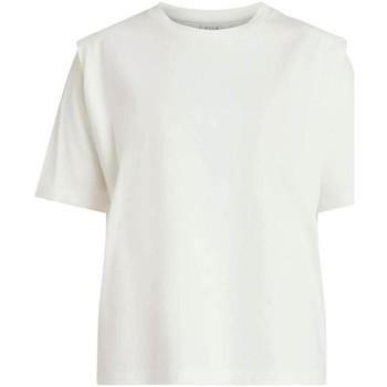 Textil Mulher T-shirts e Pólos Vila  Blanco