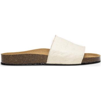 Sapatos chinelos Nae Vegan Shoes Bay_White branco