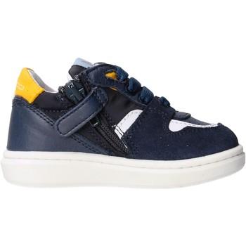 Sapatos Rapaz Sapatilhas Balducci - Polacchino blu/giallo MSPO3602 BLU