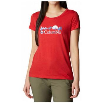 Textil Mulher T-Shirt mangas curtas Columbia  Multicolor