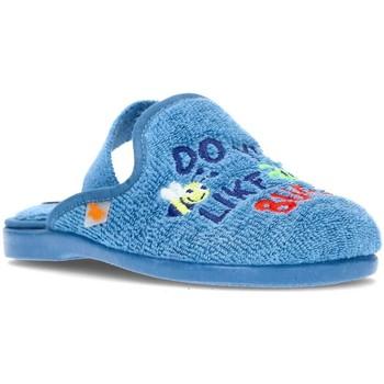Sapatos Rapaz Pantufas bebé Vulladi GO BY HOUSE CHILD TOWEL 4102 AZUL