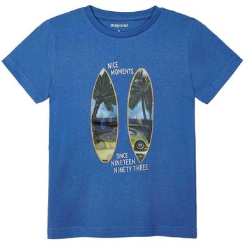 Textil Rapaz T-shirts e Pólos Mayoral  Azul