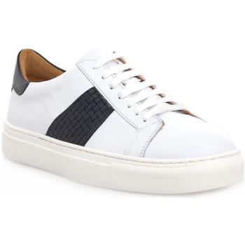 Sapatos Homem Sapatilhas Soldini COLORADO BIANCO BLU Bianco