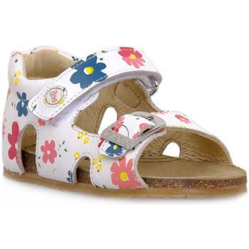 Sapatos Rapaz Sandálias Naturino FALCOTTO 0N01 BEA WHITE Bianco