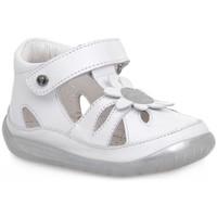 Sapatos Rapaz Sandálias Naturino FALCOTTO 1N02 ORINDA WHITE Bianco