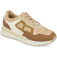 Sapatos Mulher Sapatilhas Tephani TF22111 Beige