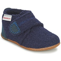 Sapatos Rapaz Chinelos Giesswein OBERSTAUFEN Azul