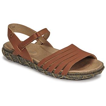 Sapatos Mulher Sandálias El Naturalista SOFT Castanho