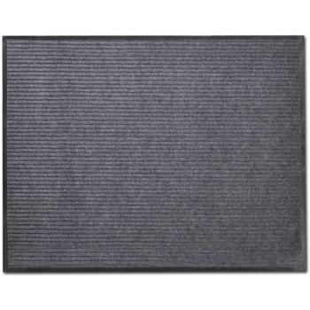Casa Tapetes VidaXL Tapete para porta 120 x 180 cm Cinzeto