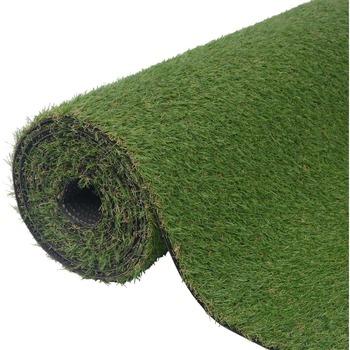 Casa Plantas e Flores Artificiais  VidaXL Relva artificial 1 x 8 m / 20 mm Verde