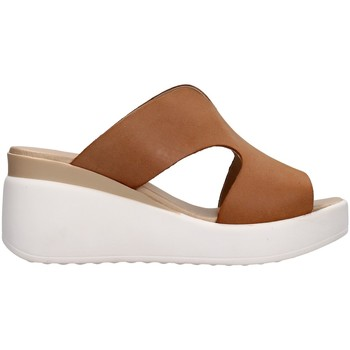 Sapatos Mulher Chinelos Melluso 019149 Bege