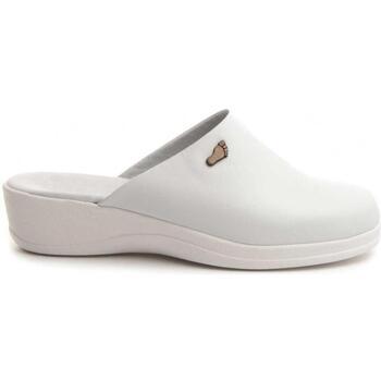 Sapatos Mulher Chinelos Dkel 70461 WHITE