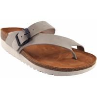 Sapatos Mulher Chinelos Interbios Sandália feminina  7119 mg cinza Cinza