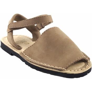 Sapatos Rapariga Sandálias Duendy 9361 taupe Castanho