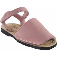 Sapatos Rapariga Sandálias Duendy menina  9361 rosa Rosa