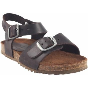 Sapatos Rapaz Sandálias Interbios Sandália para meninos Castanho