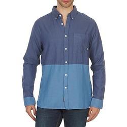 Textil Homem Camisas mangas comprida Element BRENTWOOD Azul