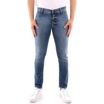 Textil Homem Calças de ganga slim Roy Rogers P21RRU006D3171194 Azul