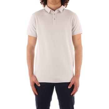 Textil Homem Polos mangas curta Trussardi 52T00488 1T003603 Cinza