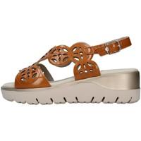 Sapatos Mulher Sandálias CallagHan 26510 Castanho