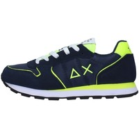 Sapatos Rapaz Sapatilhas Sun68 Z31302 Azul