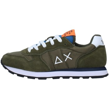 Sapatos Rapaz Sapatilhas Sun68 Z31301 Verde