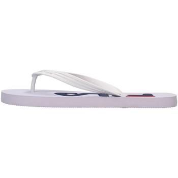 Sapatos Homem Chinelos Fila 1010288 Branco