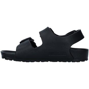 Sapatos Rapaz Sandálias Birkenstock 1009353 Preto