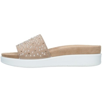 Sapatos Mulher Chinelos Enval 7281022 Bege