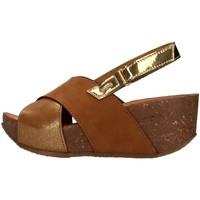 Sapatos Mulher Sandálias IgI&CO 7186211 Castanho