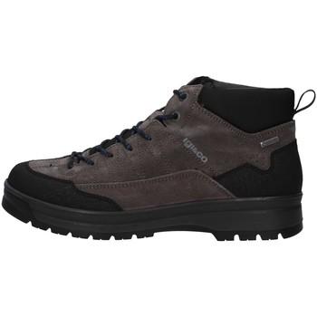 Sapatos Homem Sapatilhas de cano-alto IgI&CO 6129400 Cinza