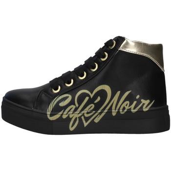 Sapatos Rapariga Sapatilhas de cano-alto Café Noir C-841 Preto