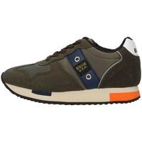 Sapatos Rapaz Sapatilhas Blauer F0DASH02/NYL Verde