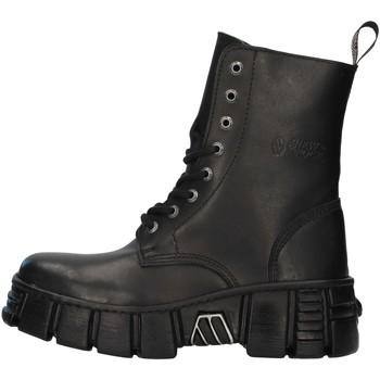Sapatos Botas baixas New Rock WALL026NBASA Preto