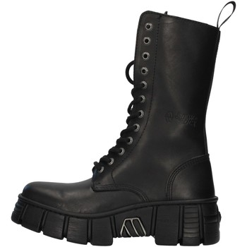 Sapatos Botas baixas New Rock WALL027NBASA Preto
