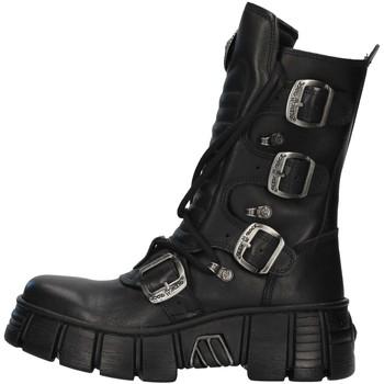 Sapatos Botas baixas New Rock WALL028N Preto