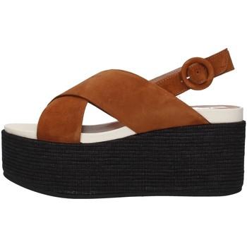 Sapatos Mulher Sandálias Tres Jolie 2801/MONY Castanho