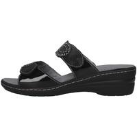 Sapatos Mulher Chinelos Melluso K95720 Preto