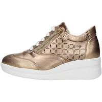 Sapatos Mulher Sapatilhas Melluso R20228 Ouro