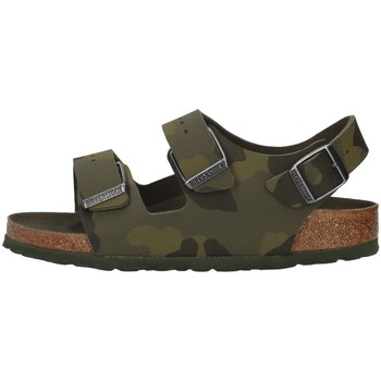 Sapatos Rapaz Sandálias Birkenstock 1014590 Verde