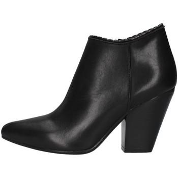 Sapatos Mulher Botas baixas Zoe NIKY65 Preto