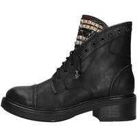 Sapatos Mulher Botas baixas Gold&gold GA75 Preto