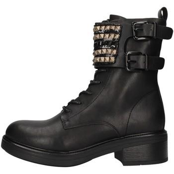 Sapatos Mulher Botas baixas Gold&gold GA77 Preto